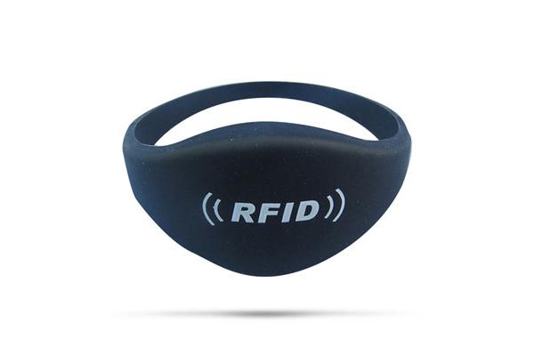 Victool Pulsera de Pulsera RFID Pulsera de Silicona de 125 kHz Tarjeta de identificaci/ón Impermeable IP68 Control de Acceso a la Puerta de Entrada para Sala de Sauna de Piscina Negro 10 Piezas