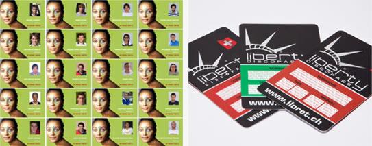 Personalización y codificación en tarjetas